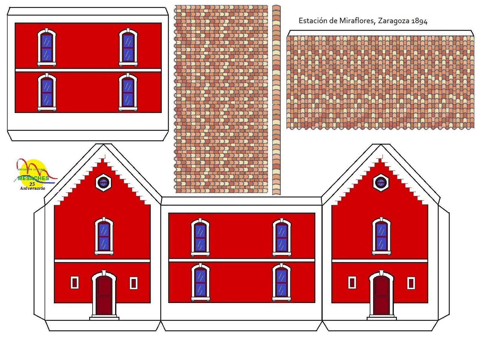edificios para armar de papel para maquetas imagui