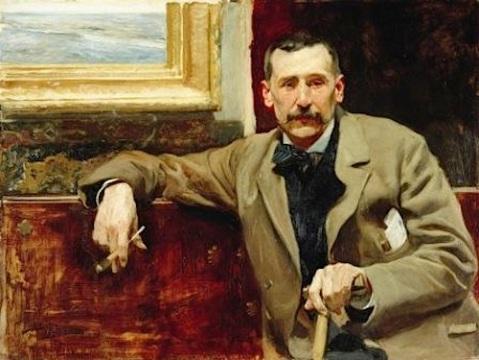 Retrato de Benito Pérez Galdós, 1894